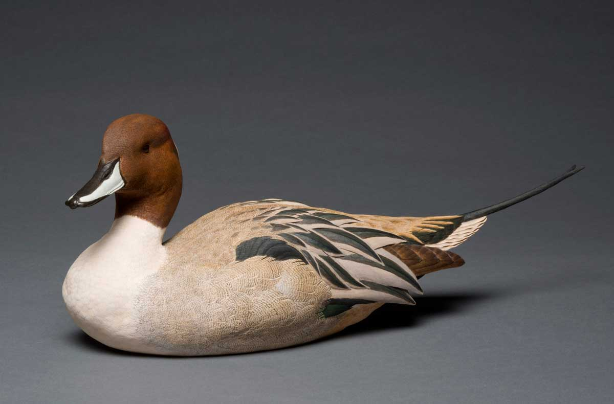 photo of Pete Lupo's Artwork - Pintail Duck Duck Decoy
